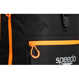 speedo Team III Selkäreppu 30l, black/fluo orange